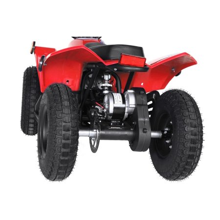 T4B SPARK Mini ATV 250W Brushless Electric KIDS Dirt Quad, 24V13.7Ah, All Terrain, Recreational Outdoors, Off-Road, 3-6 y.o. - Red - image 1 de 11