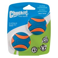 Chuckit! Ultra Squeaker Dog Ball High Bounce Blue/Orange