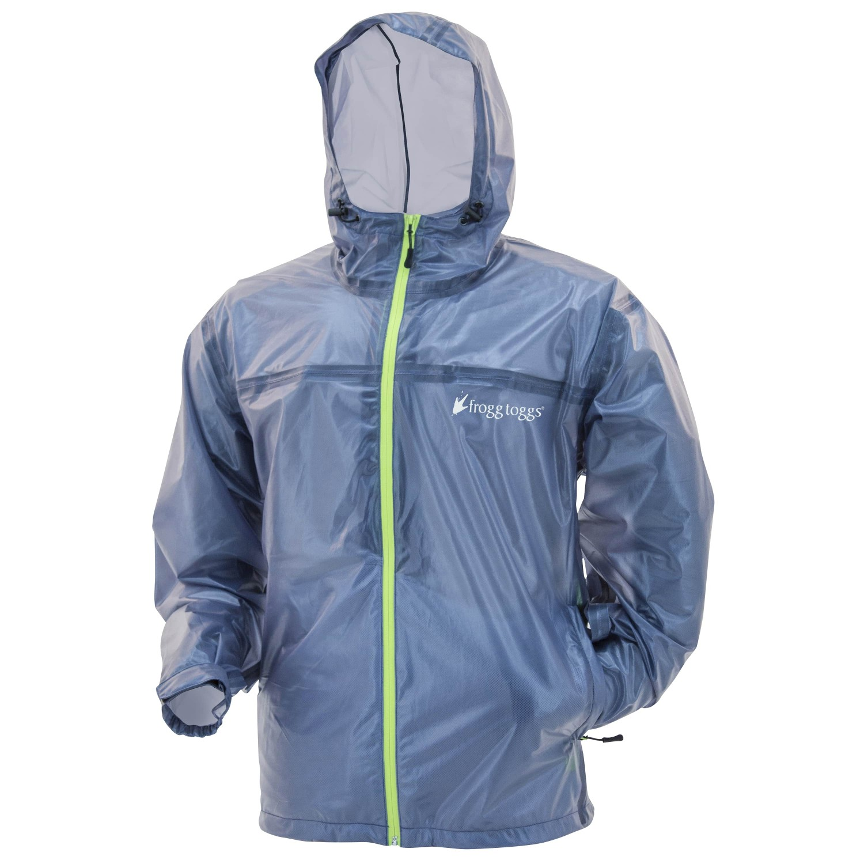 Frogg Toggs Men's Xtreme Lite Jacket Blue Large