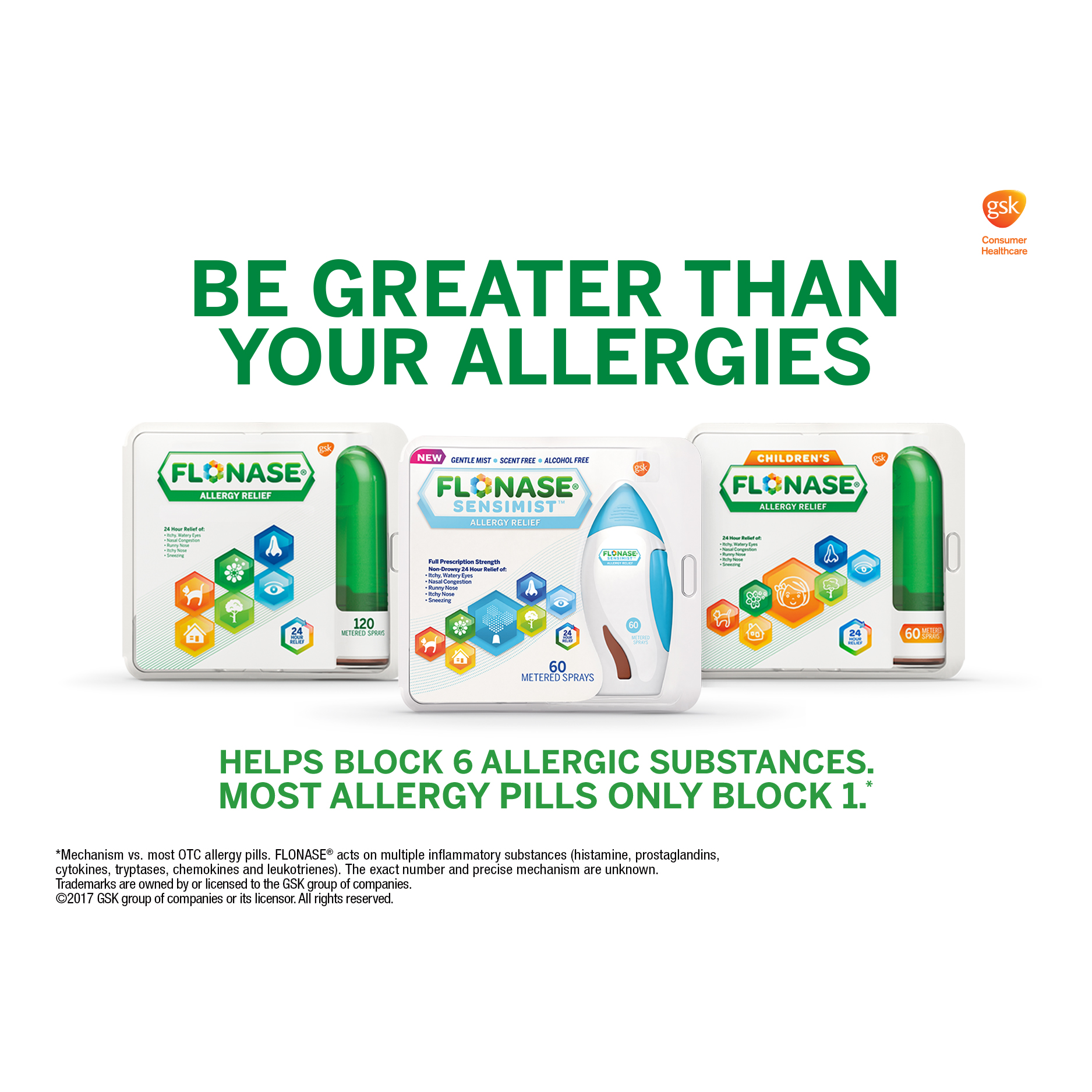 Flonase Allergy Relief Collection