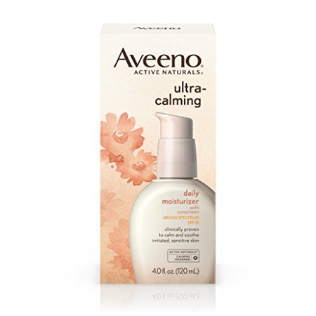 Aveeno Ultra-Calming Daily Facial Moisturizer with SPF 15, 4 fl. (Best Face Cream With Spf)