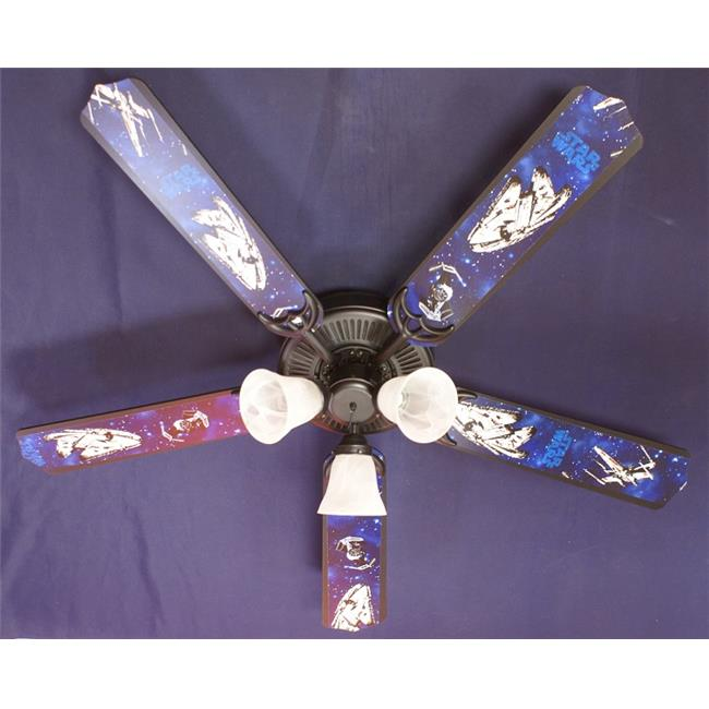Ceiling Fan Designers 52FAN-KIDS-SW2 52 in. Star Wars Spa...