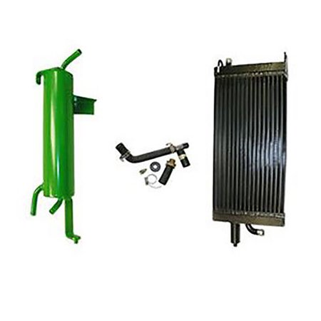 AMX47108 New Hydraulic Oil Cooler Upgrade Kit for John Deere 3010 3020 4000 4020
