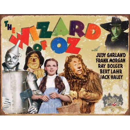 Wizard of Oz - 70th Anniversary Tin Sign - 16x12 - Anniversary Signs