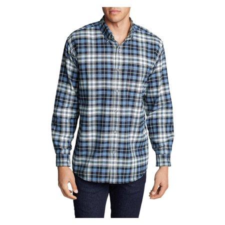 8e954c194987 Eddie Bauer - Eddie Bauer Men s Eddie s Favorite Flannel Relaxed Fit Shirt  - Plaid - Walmart.com