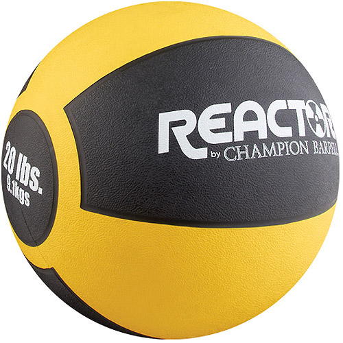 Reactor by Champion Barbell® 20 lb. Heavy Medicine Ball