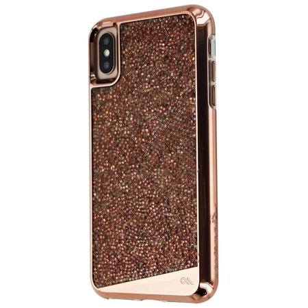 more photos 1bac9 34a89 Case-Mate (CM037852) Brilliance Phone Case for iPhone XS Max - Rose Gold