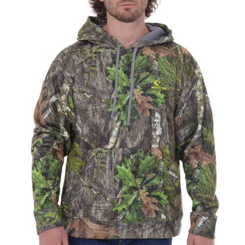 Realtree and Mossy Oak Men's Performance Fleece Hoodie by Intradeco