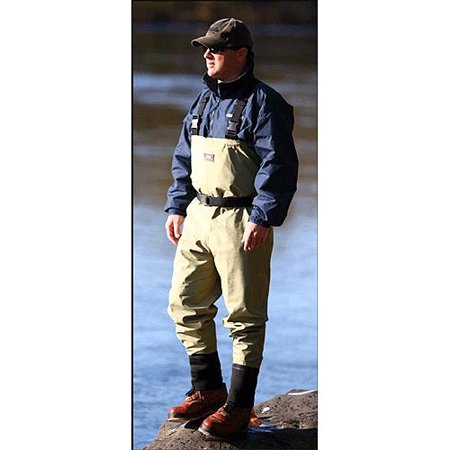 Caddis Systems Promo Breathable Stocking Foot Wader, Light Green