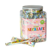 Smarties Candy Necklace, 2 Lb, 72 Ct