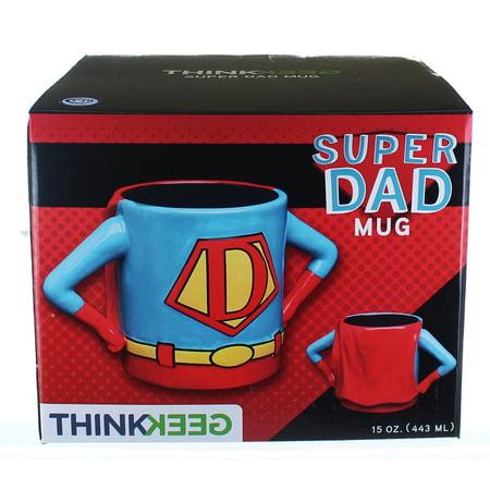 Superhero Dad 15oz Ceramic Mug](Superhero Father's Day)
