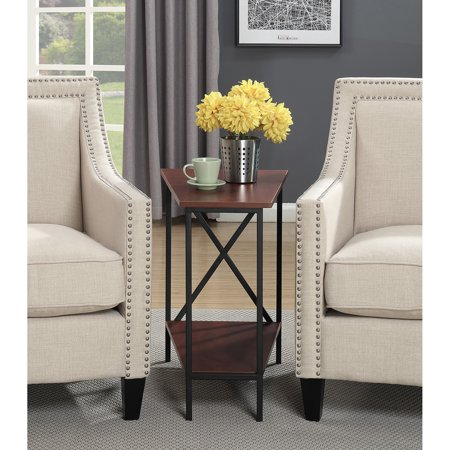 Convenience Concepts Tucson Wedge End Table, Multiple Finishes ()