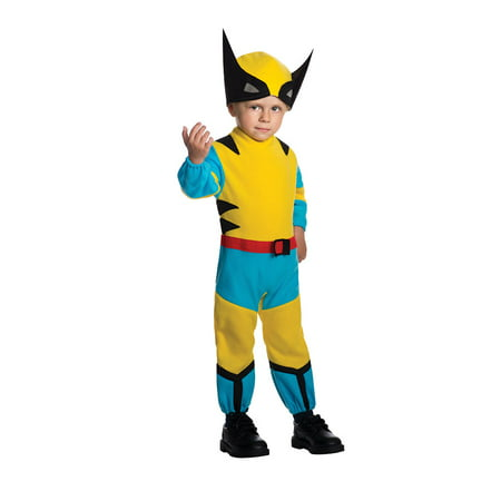 Toddler Wolverine X-Men Halloween Costume Size 2T-4T (Wolverine Halloween Costume Toddler)