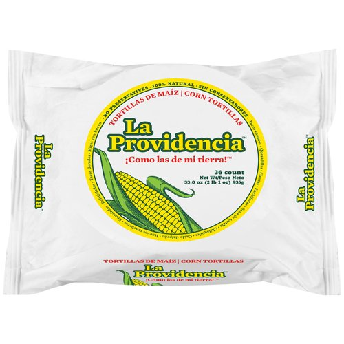 La Providencia Corn Tortillas, 36 ct