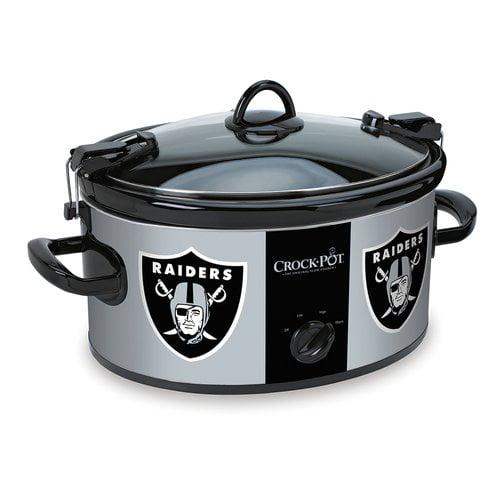 Crock-Pot NFL 6-Quart Slow Cooker, Oakland Raiders