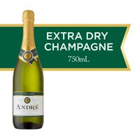 Andre Extra Dry Sparkling Wine, 750 mL