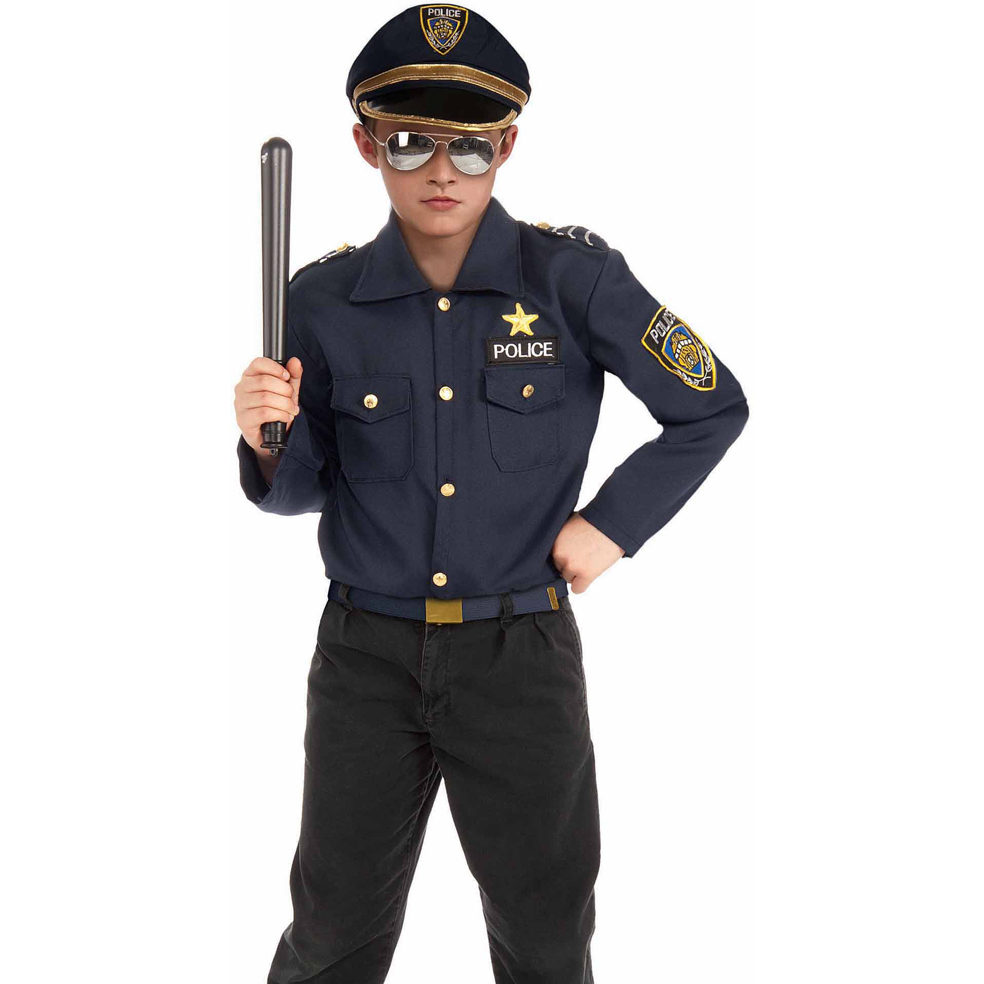 Police Kit Boy Halloween Costume