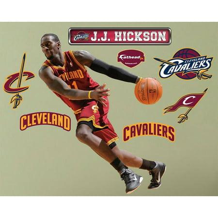 JJ Hickson Fathead Jr NBA Cavaliers Basketball Wall Sticker