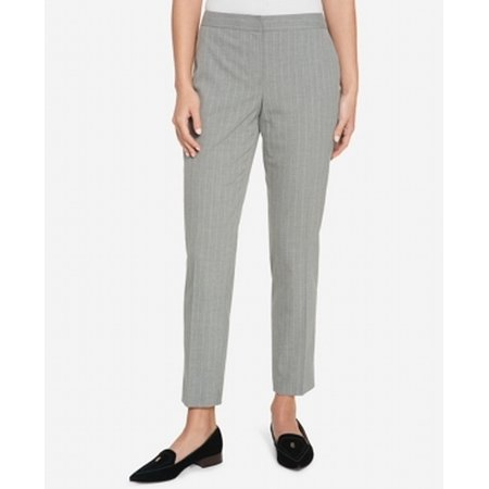 Tommy Hilfiger Light Womens Pinstriped Dress Pants