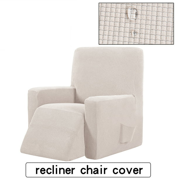 Kadell Large Recliner Chair Slipcover Protector All inclusive Sofa Cover Elasticity Stretch Anti slip Slipcovers Single Seat Sofa Recliner Couch Cover
