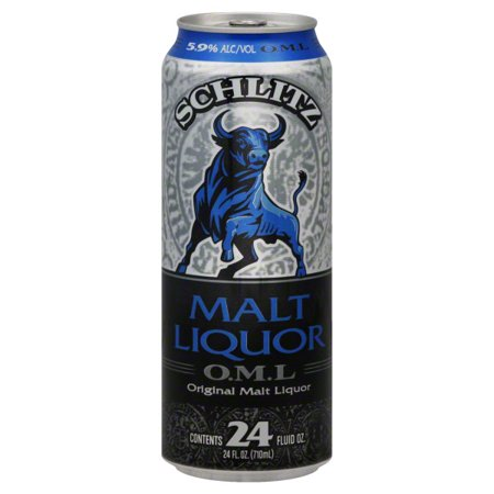 Schlitz Malt Liquor, 24 fl oz