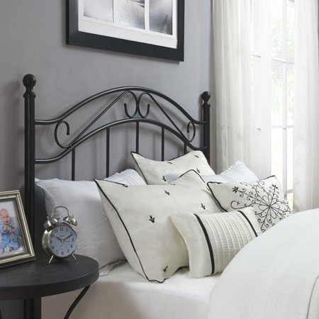 Dorel Home Mainstays Full/Queen Metal Headboard, Black - Dorel Home Mainstays Full/Queen Metal Headboard, Black - Walmart.com