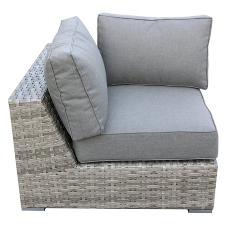 Bali Wicker - Teva Patio Bali Wicker Patio Corner Sectional Piece