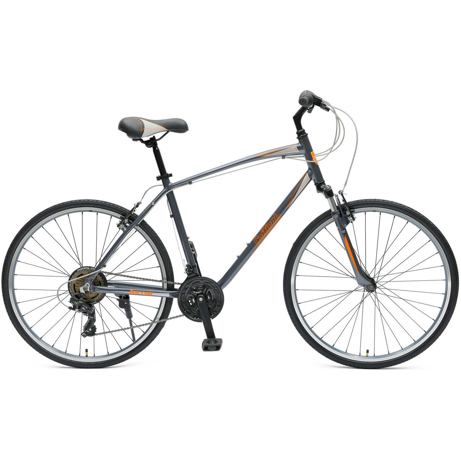 Critical Cycles Barron 21-Speed Hybrid Bike