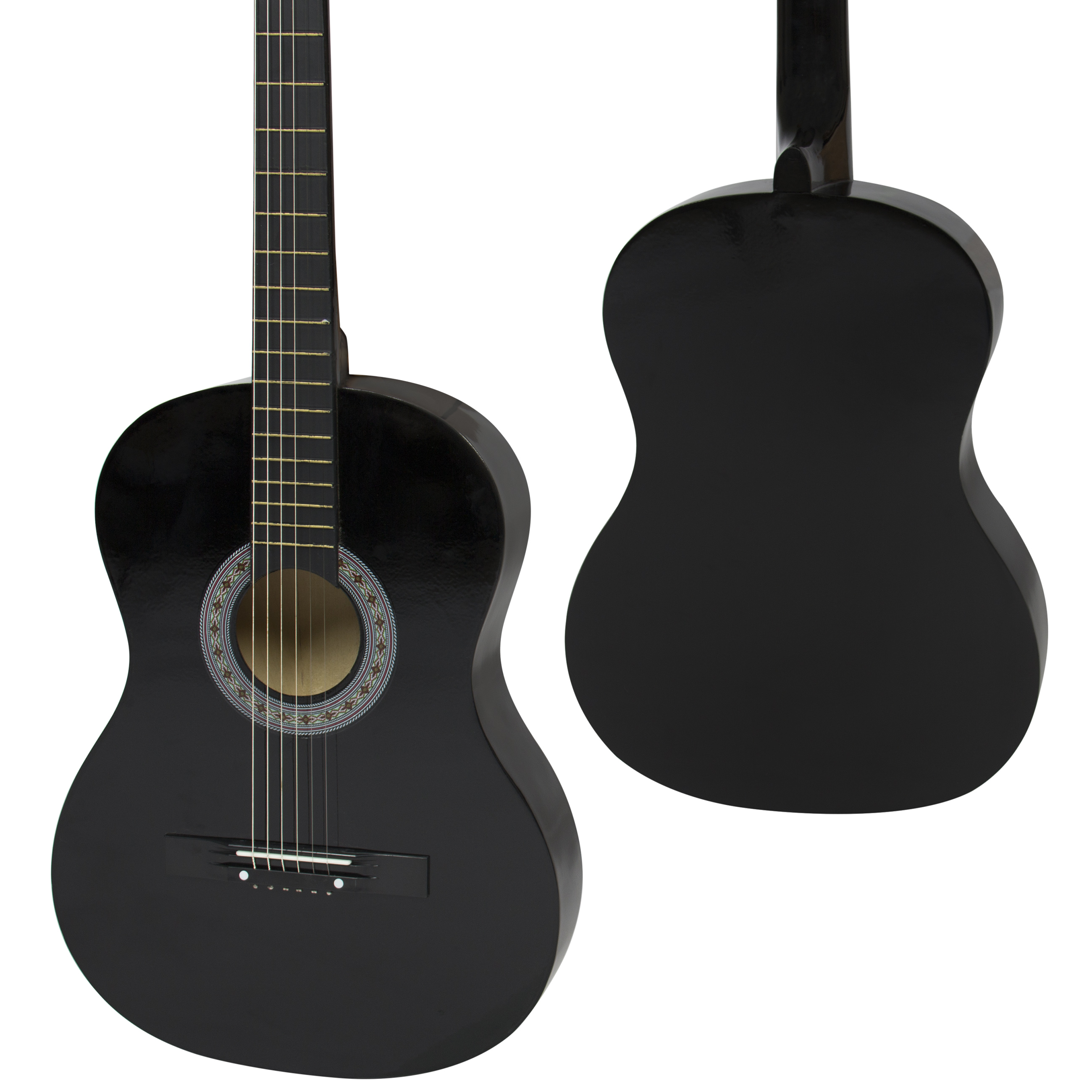 Best Choice Products 38in Beginner Acoustic Guitar Bundle Kit W