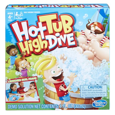 Hot Tub High Dive Game with Bubbles, Game for Kids Ages 4 and up - High School Rally Games
