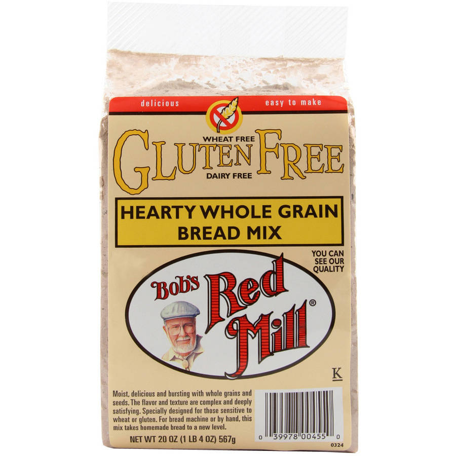 Bob's Red Mill Whole Grain Bread Mix, 20 oz (Pack of 4)