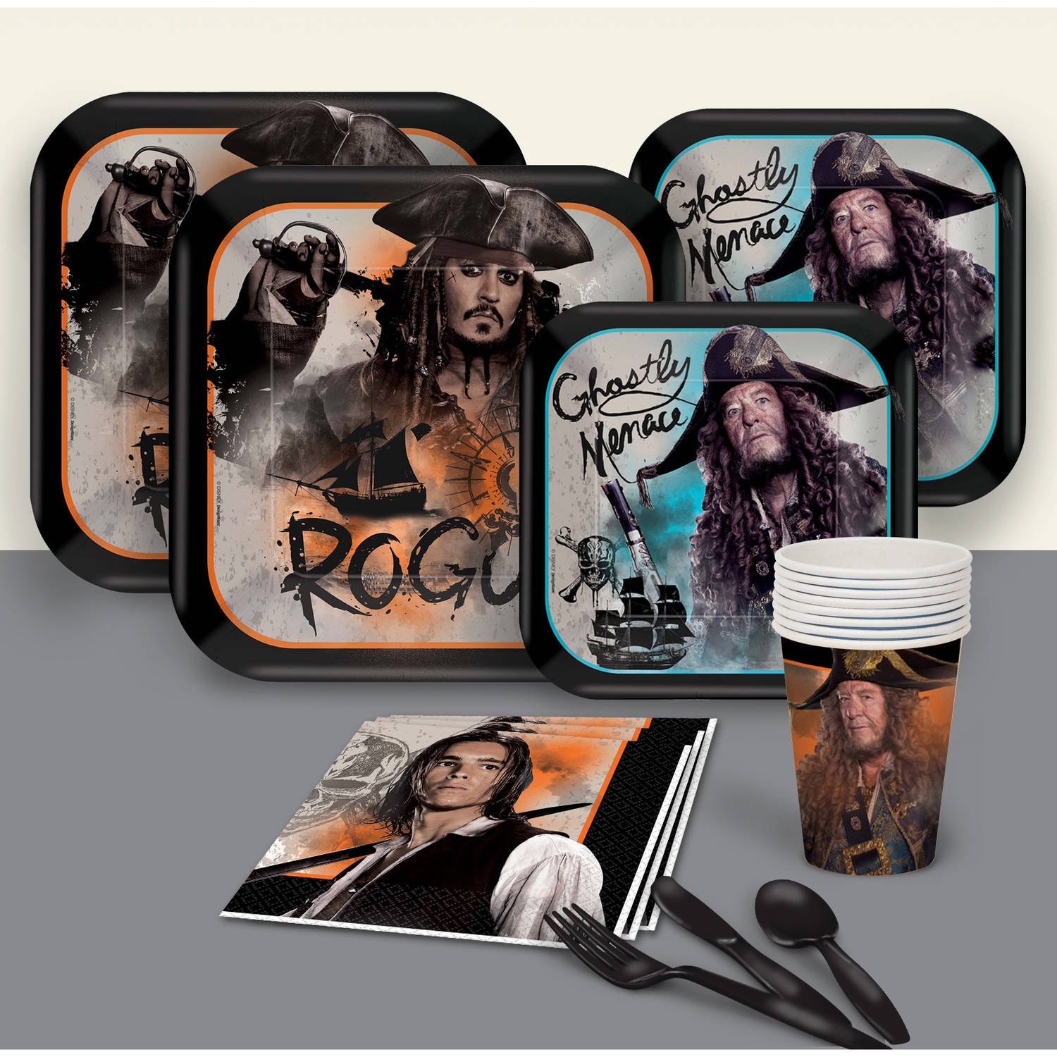 Pirates of the Caribbean Party Pack for 8
