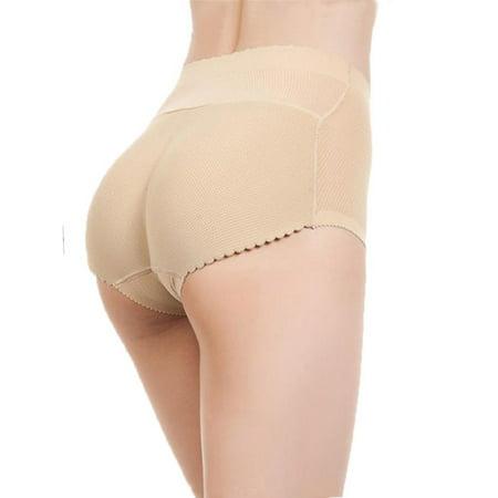 6e661d54085d LELINTA Women's Butt Lifter Padded Hip Enhancer Shapewear Tummy Control  Shaper Fake Ass Pads Panties ...