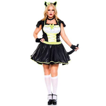 Plus Size Furry Cats Meow - Plus Size Cat Costume