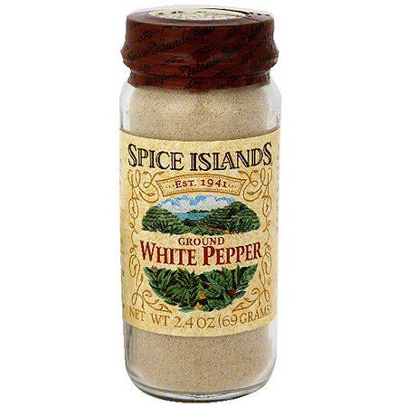 Spice Islands Ground White Pepper, 2.6 oz (Pack of 3)