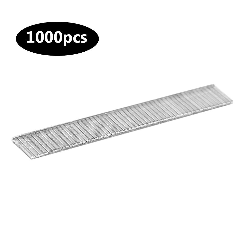 EECOO 1000pcs Stainless Steel Staples Nails Fasteners for Handheld Staple Gun Stapler Stapler Nail by