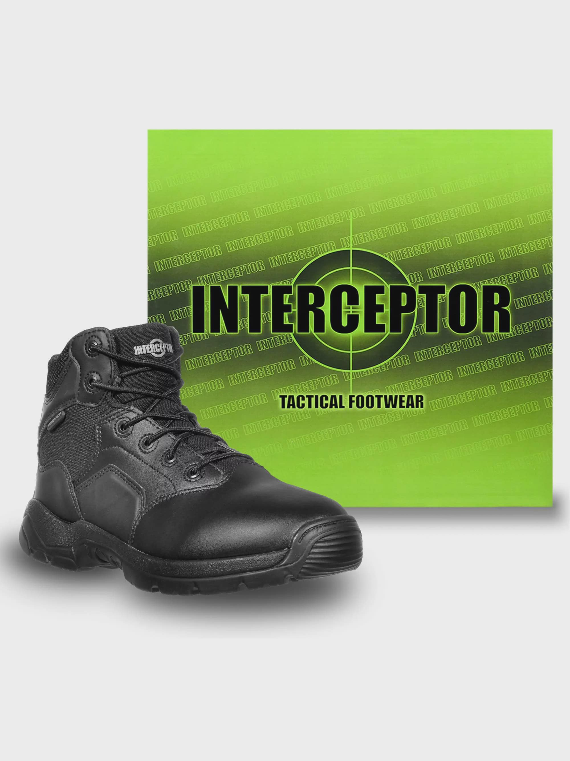 b539f2bf6be Interceptor Men's Canton Waterproof Work Boots, Slip Resistant ...