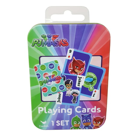 - PJ Masks Playing Cards in Mini Tin