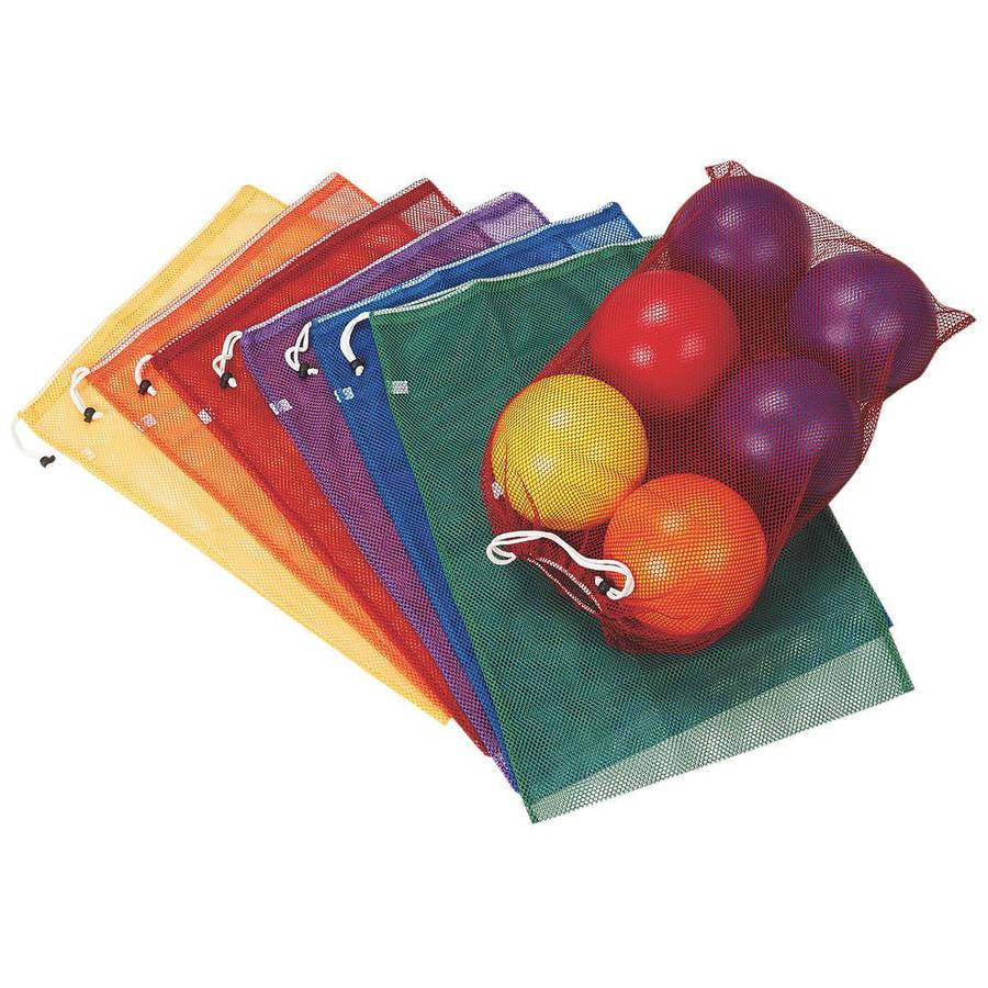 Spectrum Mesh Drawstring Bags, Medium, Set of 6 - Walmart.com