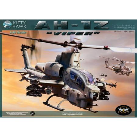 KTH80125 1:48 Kitty Hawk AH-1Z Viper Helicopter