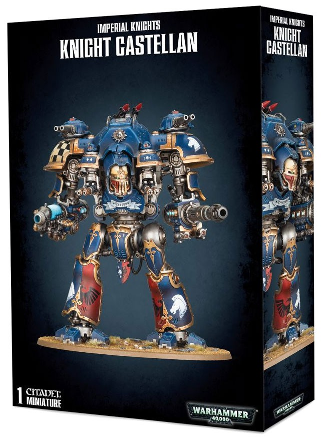 Warhammer 40,000 Imperial Knights Knight Castellan Miniature by Games Workshop