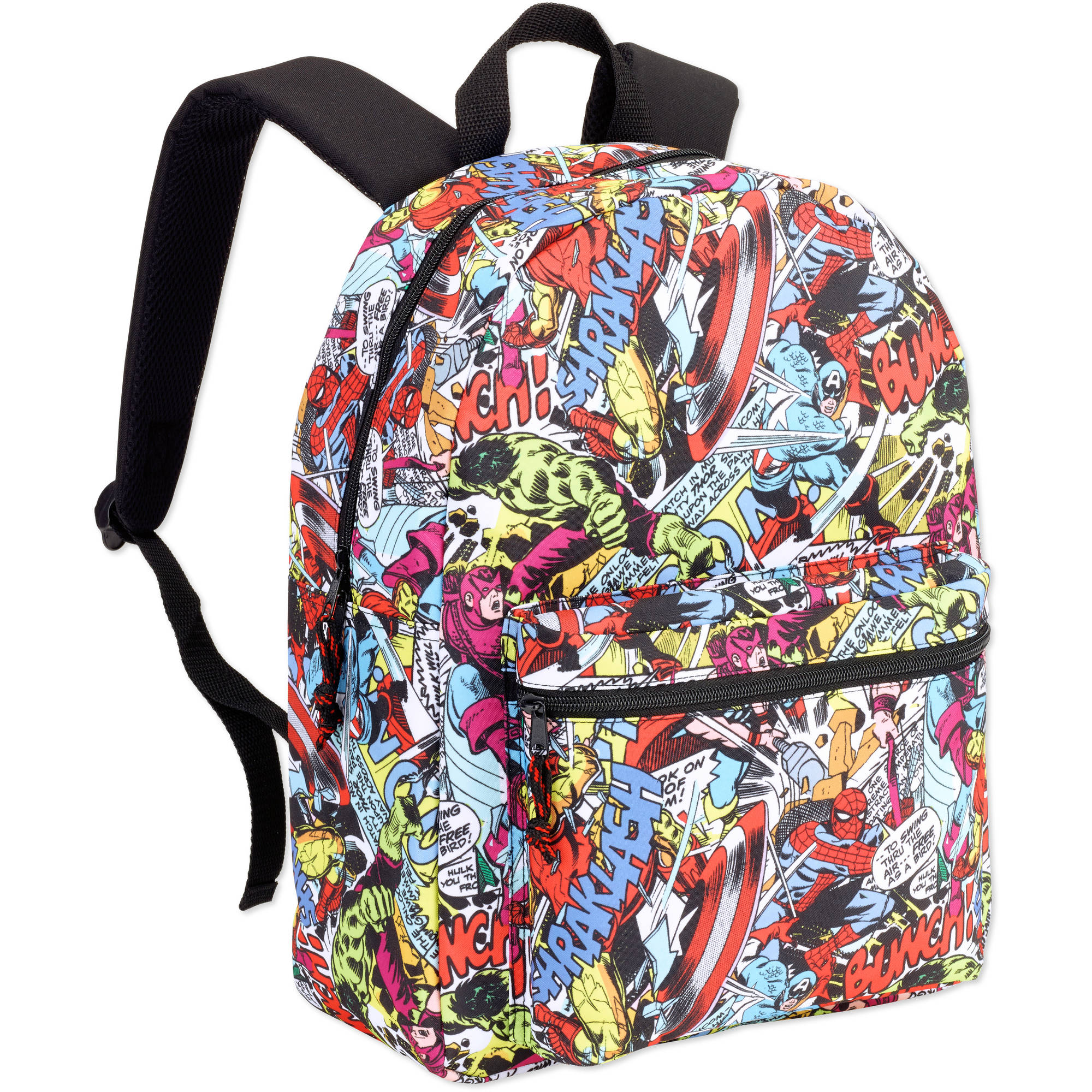 "16"" Marvel Comic Backpack"