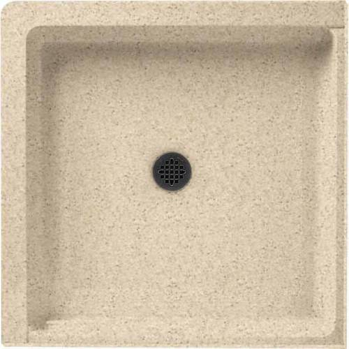 """Swan SS-36DTF-010 36"""" x 36"""" Swanstone Shower Base (Drain Included), Available in Various Colors"""