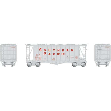 - Athearn N Scale GATC 2600 Airslide Covered Hopper Car Southern Pacific/SP 403004
