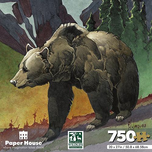 National Wildlife Federation Shaped Jigsaw Puzzle