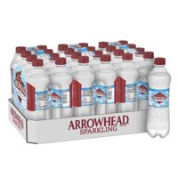 Arrowhead Sparkling Water, Simply Bubbles, 16.9 oz. Bottles (24 Count)