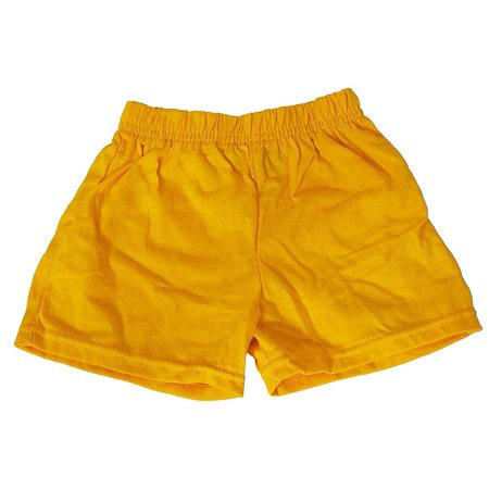 Basic Editions - Little Girls Jersey Knit Gym Shorts Banana / 4T](Banana Mascot)