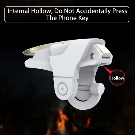 For PUBG L1R1 Gaming Trigger Mobile Phone Fire Button Handle Shooter  - image 3 of 12
