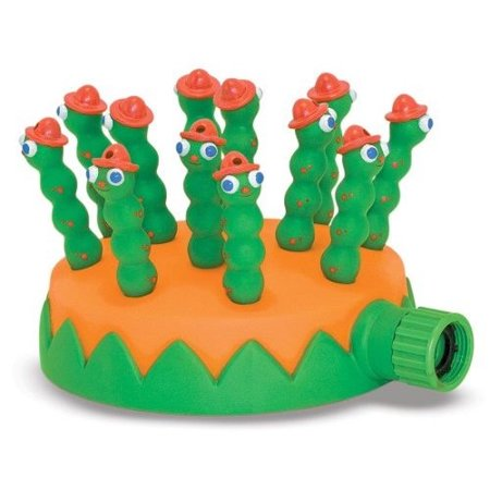 Melissa & Doug Sunny Patch Grub Scouts Sprinkler Toy with Hose