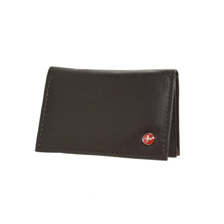 Alpine swiss expandable business card case genuine leather front alpine swiss expandable business card case genuine leather front pocket wallet walmart colourmoves